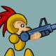 Red Tassled Fighter