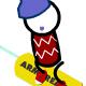 Snowboard Slalom Xtreme